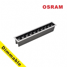 OSRAM  Dimmable Laser Blade 20W LED Linear Downlight
